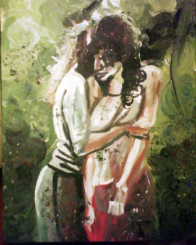300mm x 500mm Acrylic on Canvas 2011 SOLD