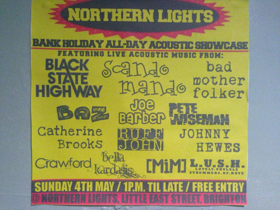 Northern Lights (Brighton) Sunday 4th May 2014